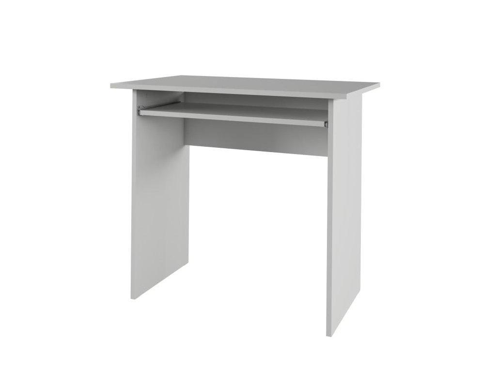 PC stůl VERNER odstín bílá