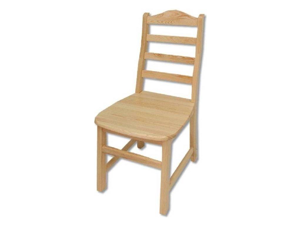 Masivní dřevěná jídelní židle KIK 109 borovice masiv
