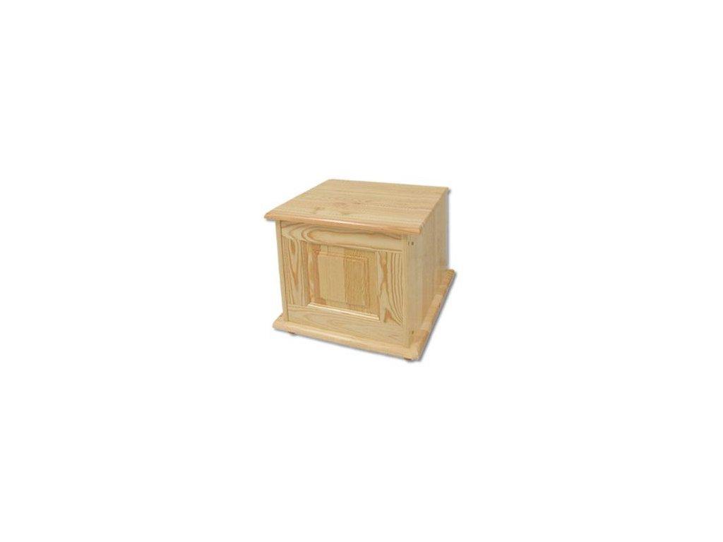 Dřevěná truhla  KIK 101 borovice masiv