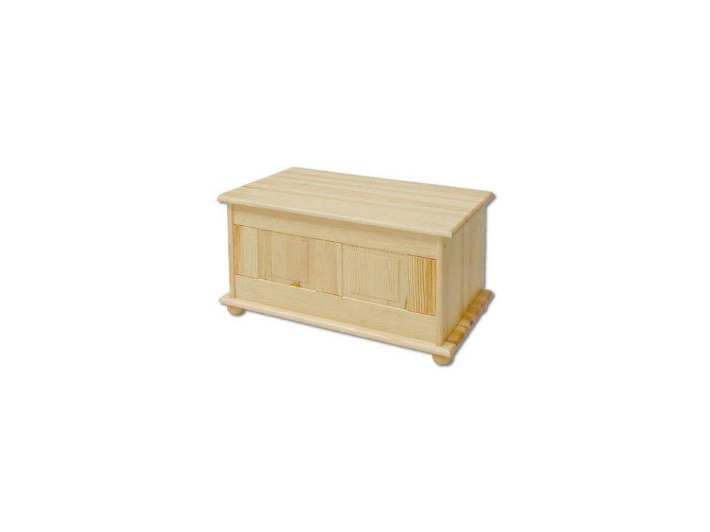 Dřevěná truhla KIK 102 borovice masiv