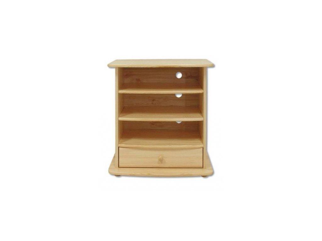 Dřevěný televizní stolek z borovice masiv KIK 107