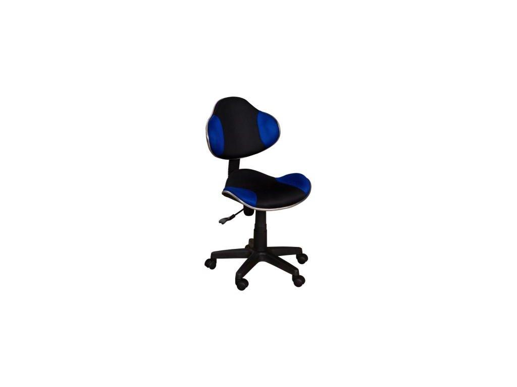Židle QZY-G2 černo-modrá  - SKLADEM