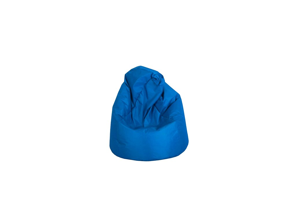 Velký sedací vak Jumbo - modrý  (90 x 90 x 143 cm )