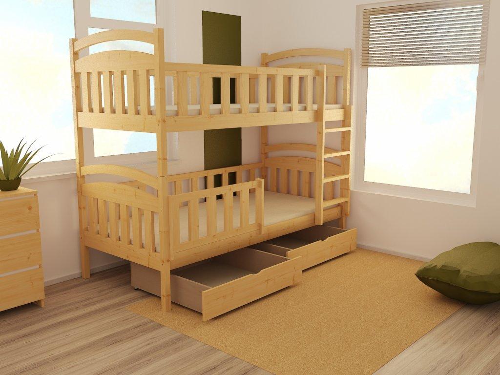 Patrová postel PP 007 90 x 200 cm