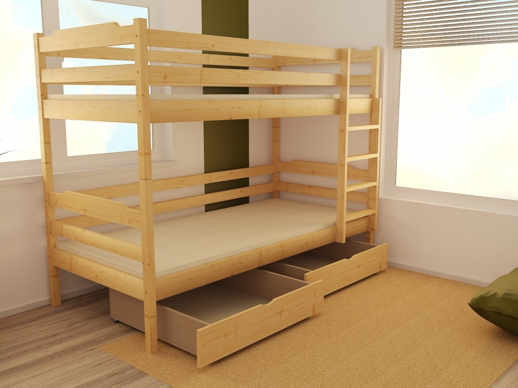 Patrová postel PP 012 90 x 200 cm
