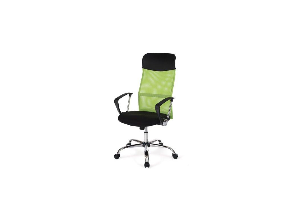 Kancelářské křeslo  s područkami KA-E 300 zelená