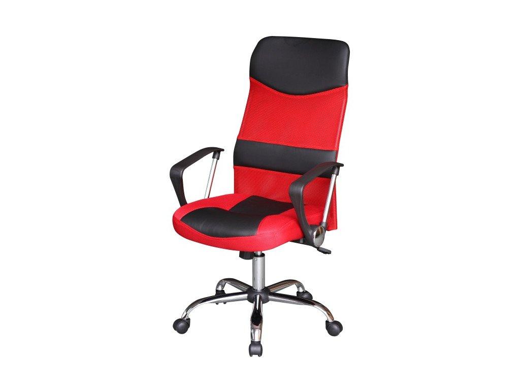 Kancelářské křeslo TC3-973M červené/černé -houpací mechanismus
