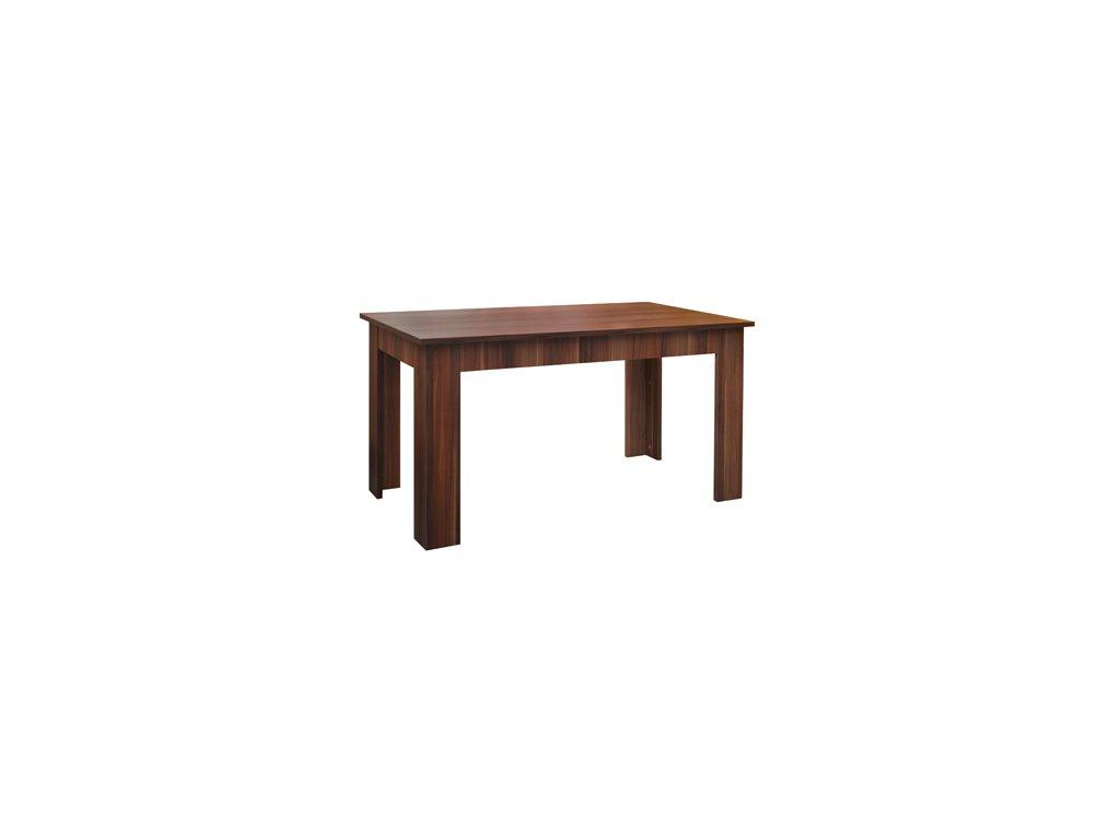 Jídelní stůl odstín ořech 6102 -140x77x77 cm