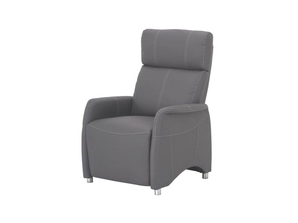 Pohodlné relaxační křeslo Forest -šedé