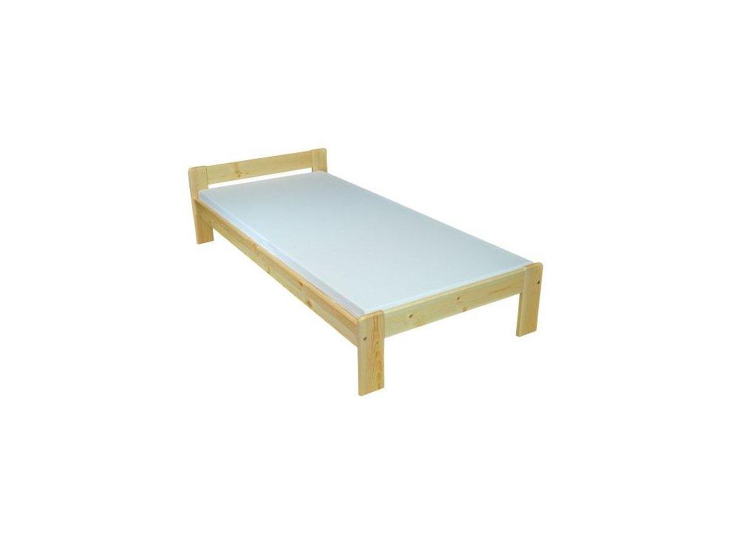 Dřevěná postel Verka, 90-180x200 cm borovice masiv