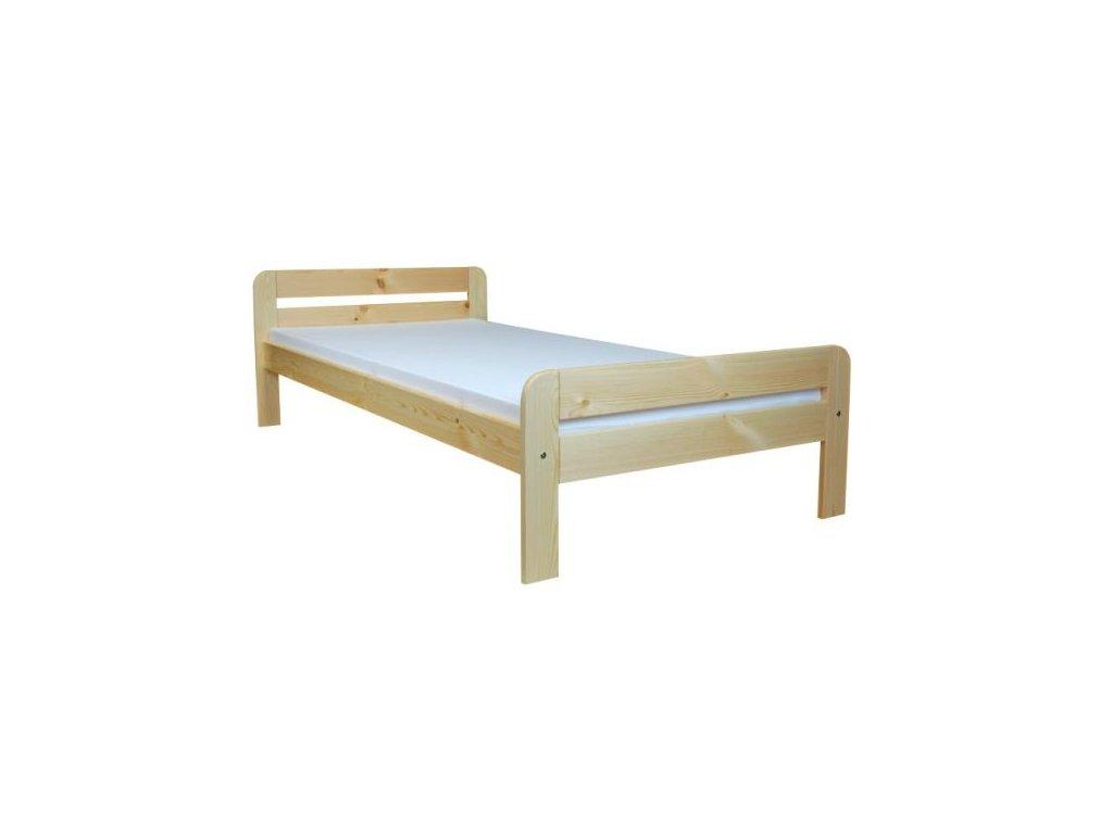 Masivní dřevěná postel TED 80-160x200 cm borovice masiv
