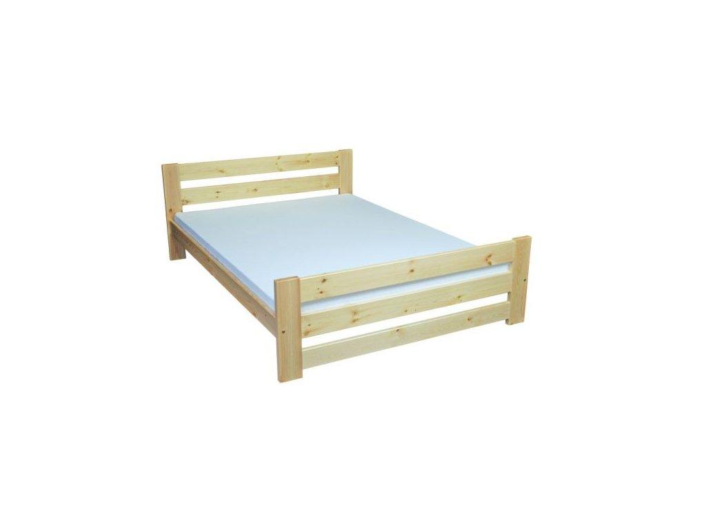 Masivní dřevěná postel Modern 90-160x200 cm borovice masiv