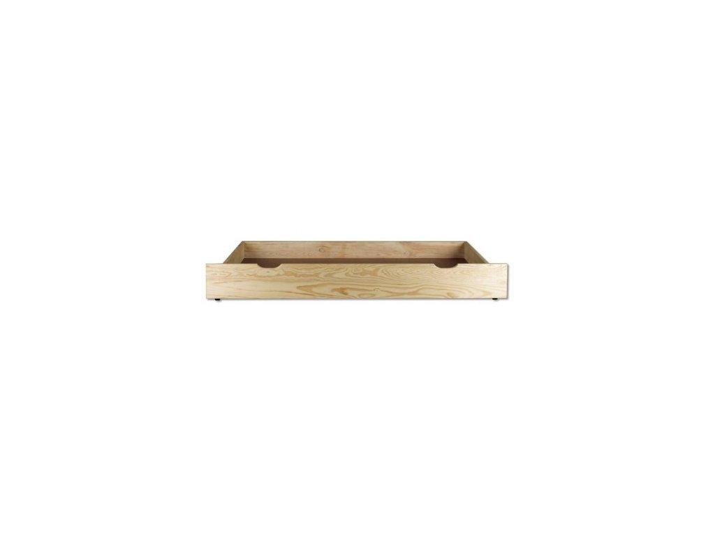 Úložný box pod postel 150 cm borovice masiv