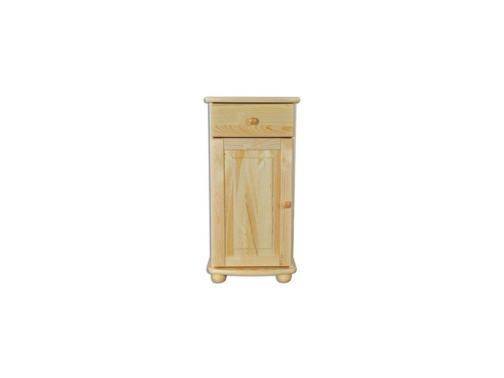 Dřevěná komoda KIK 158 borovice masív