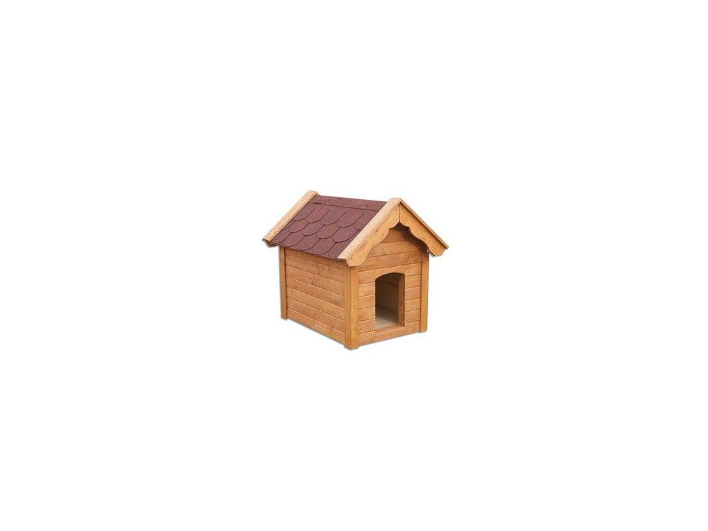 Bouda pro psa dřevěná z borovicového dřeva MO143