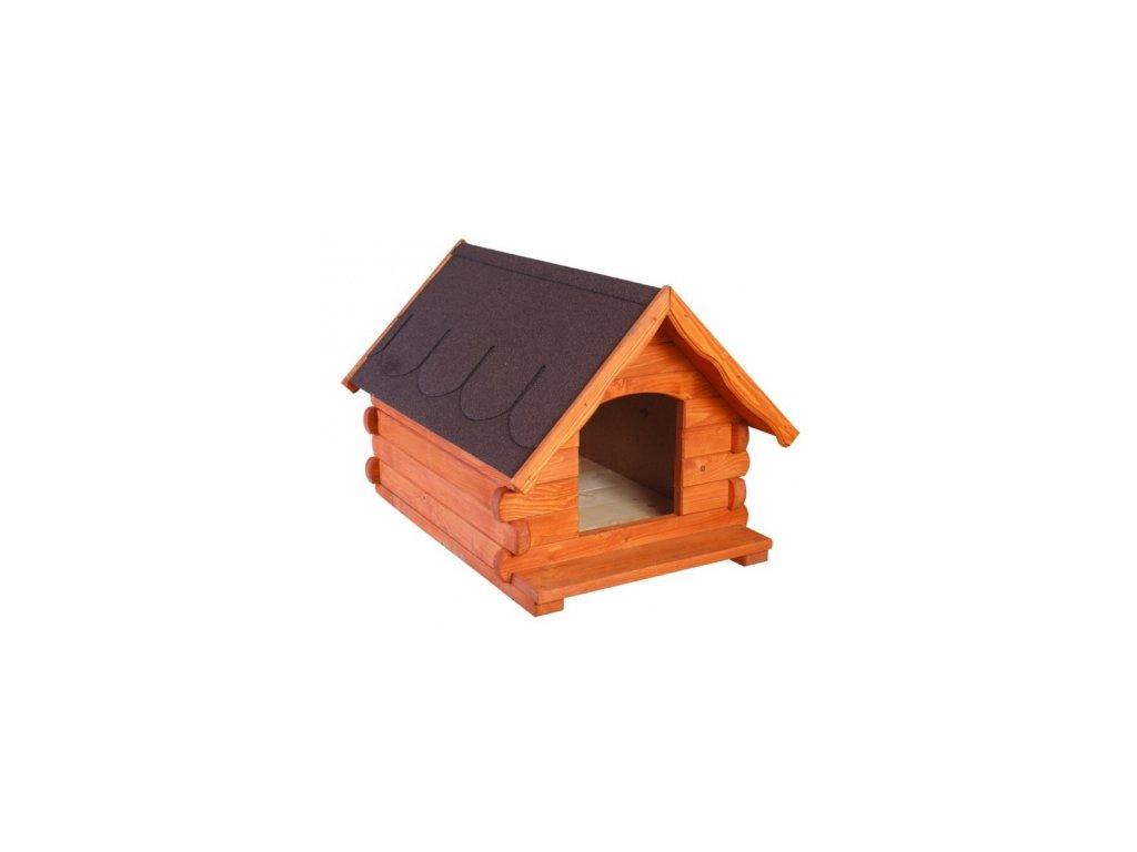 Bouda pro psa dřevěná z borovicového dřeva MO144