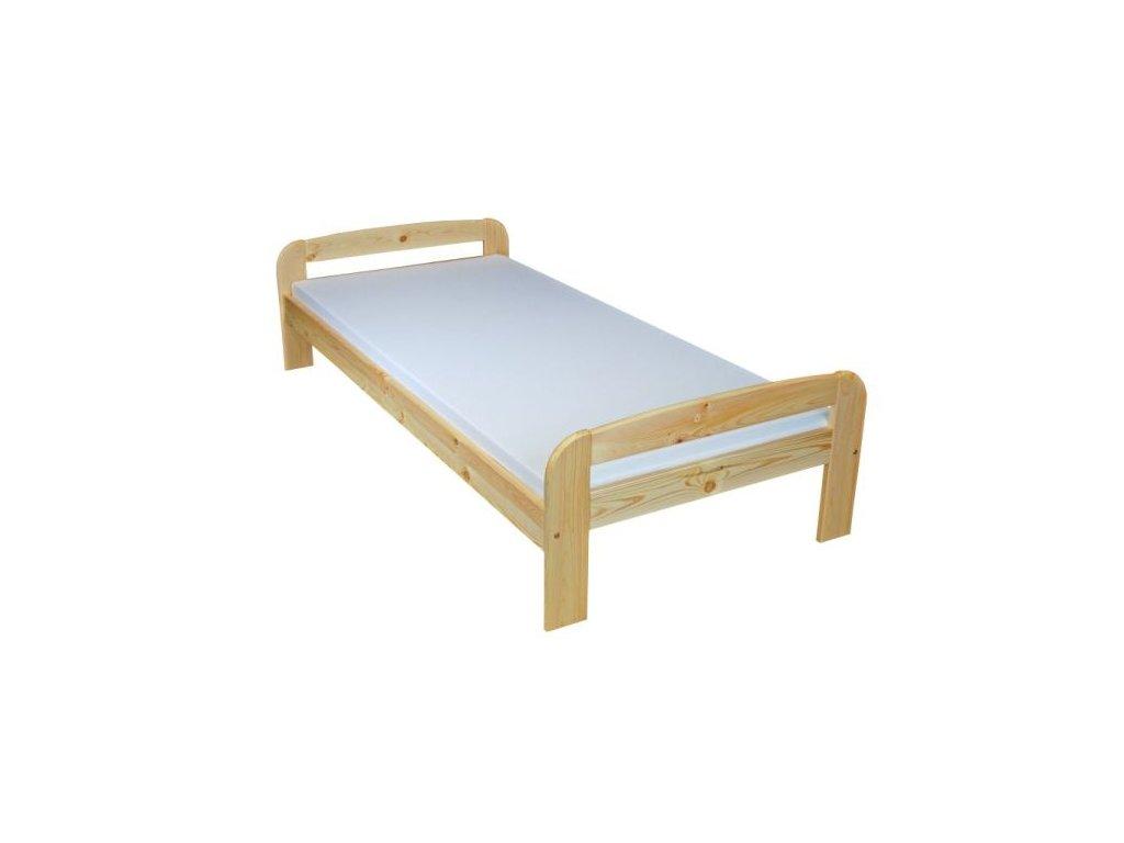 Dřevěná postel BART 120x200 cm borovice masiv