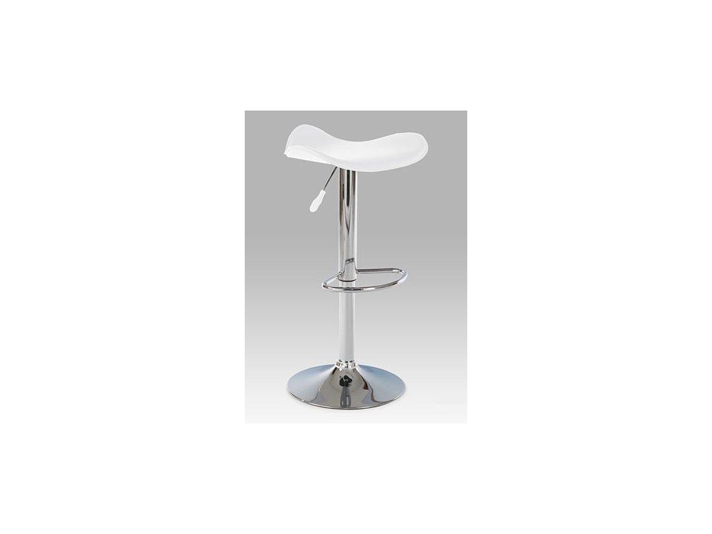 Barová židle AUB-300 bílá