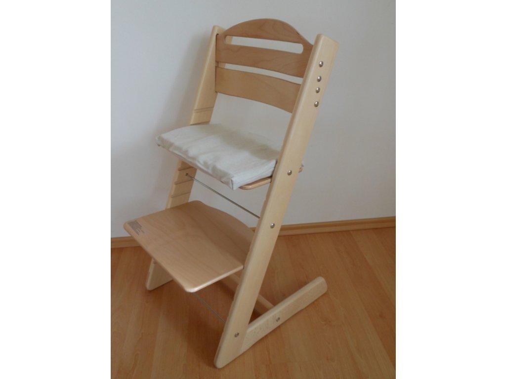 Dětská Baby rostoucí židle -přírodní