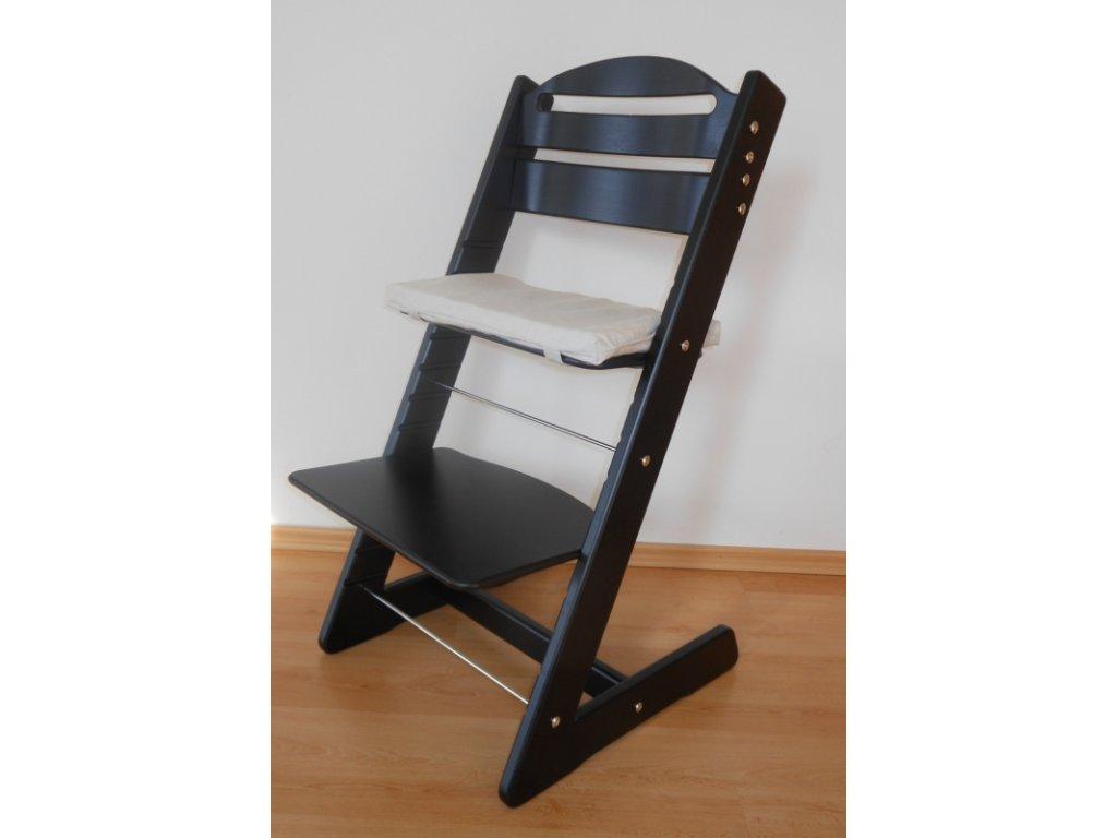 Dětská Baby rostoucí židle černá