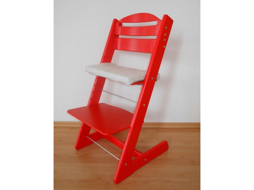 Dětská Baby rostoucí židle červená