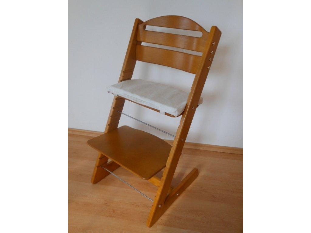 Dětská Baby rostoucí židle provedení dub