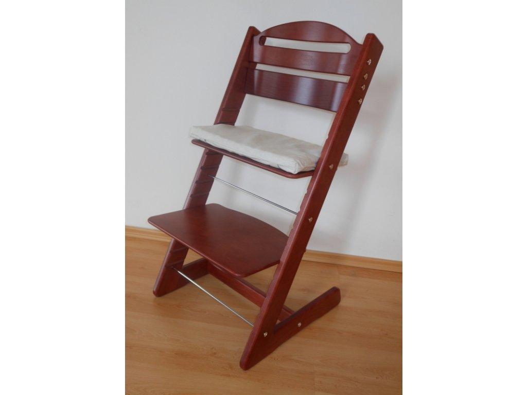 Dětská Baby rostoucí židle provedení mahagon