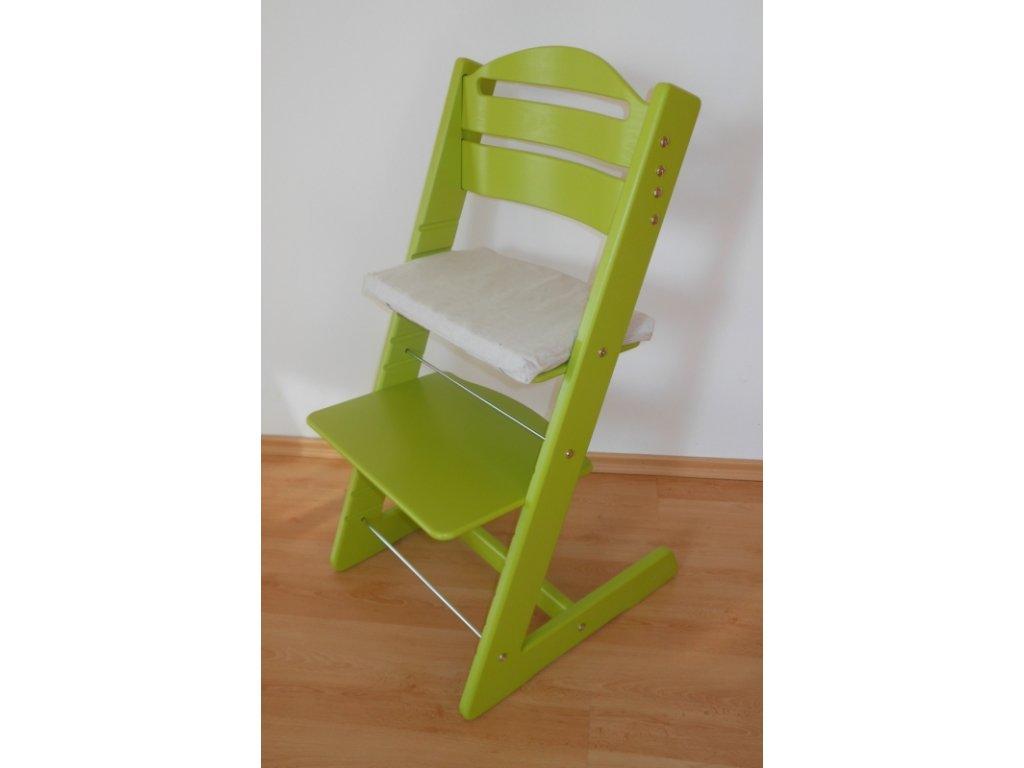 Dětská Baby rostoucí židle světle zelená