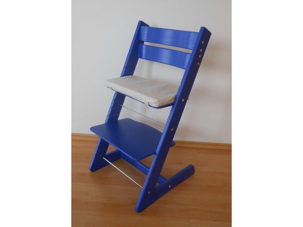Dětská rostoucí židle -modrá