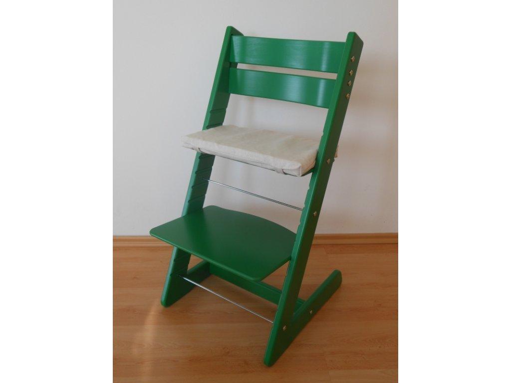 Dětská rostoucí židle -zelená