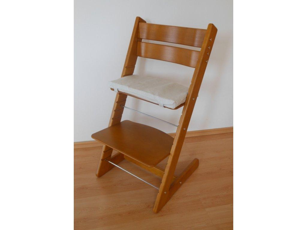 Dětská rostoucí židle provedení dub