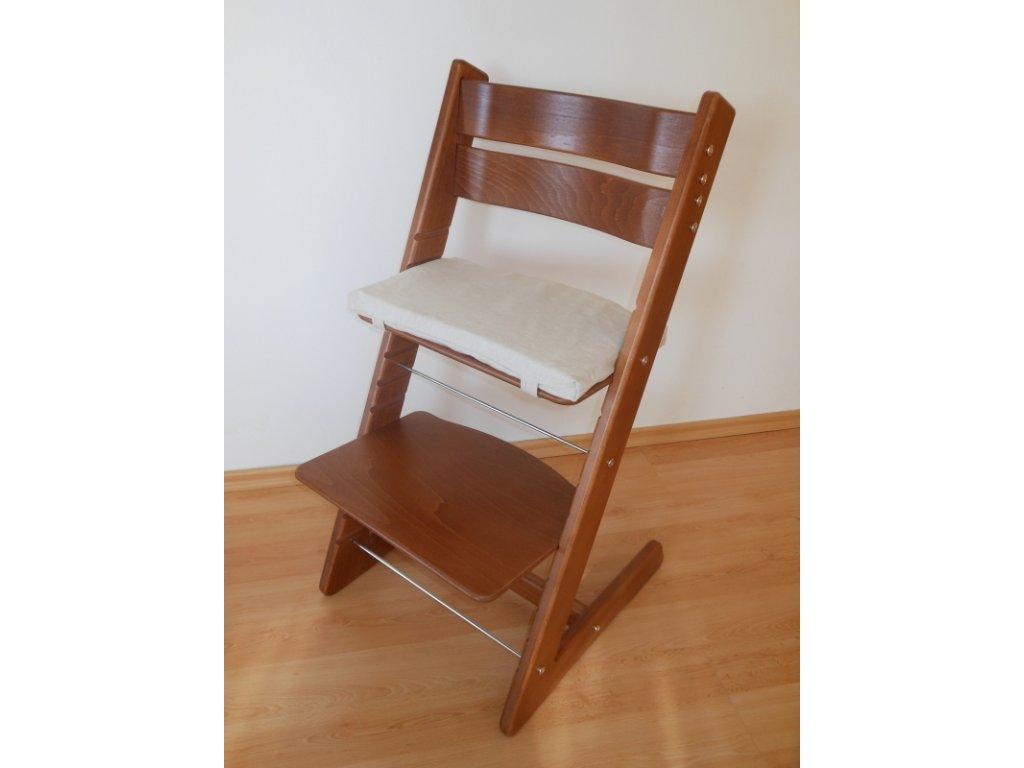 Dětská rostoucí židle provedení ořech