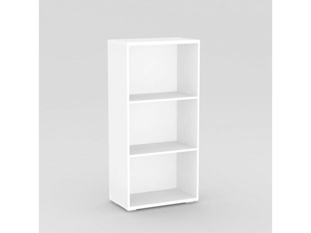 Regál REA STORE 60x28x124 bílý