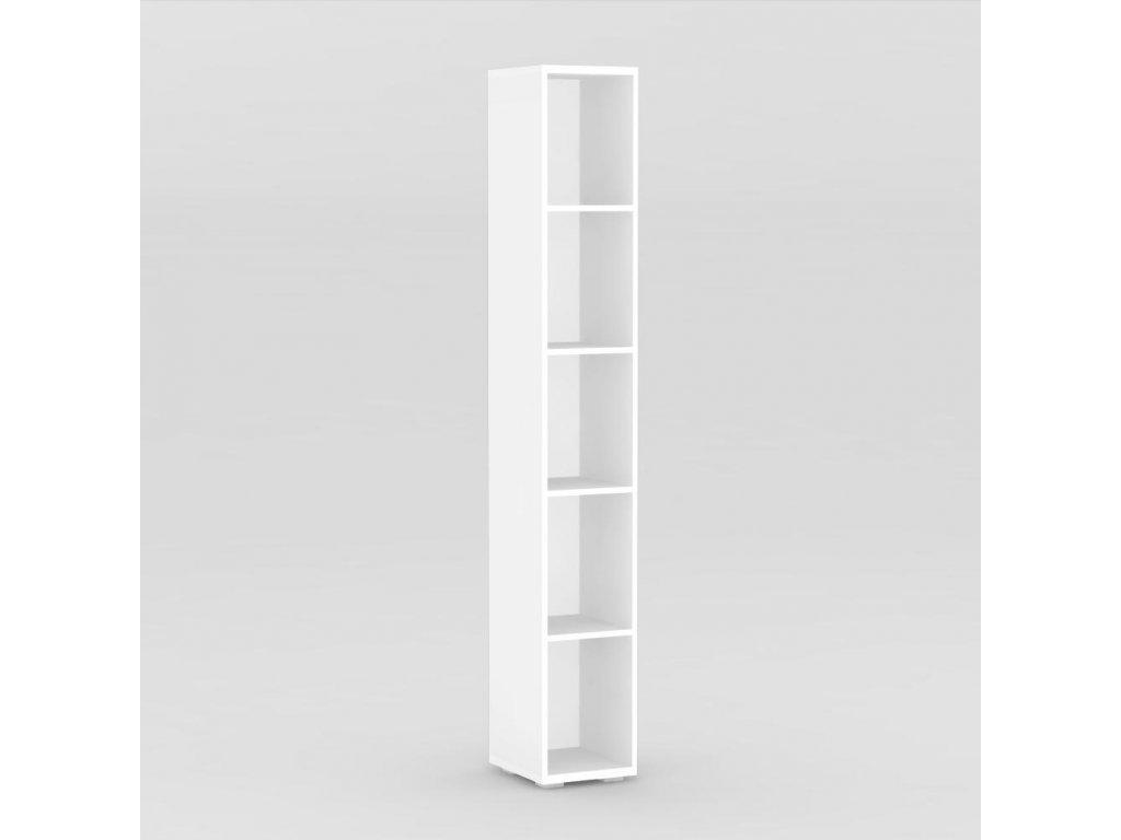 Regál REA STORE 30x28x200 bílý