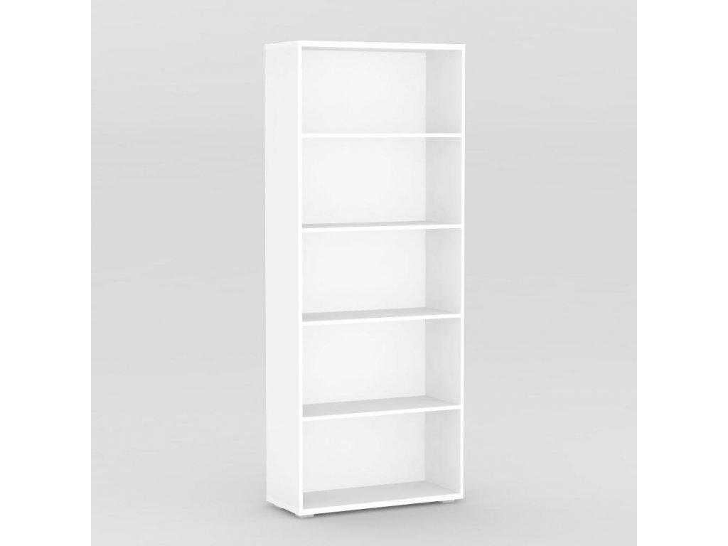 Regál REA STORE 80x28x200 bílý