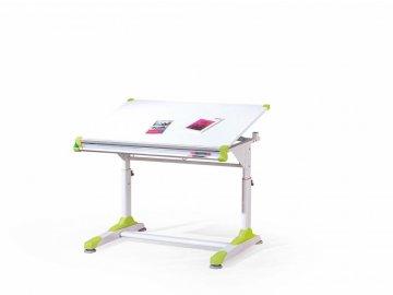 Dětský rostoucí psací stůl COLLORIDO - zeleno/bílý