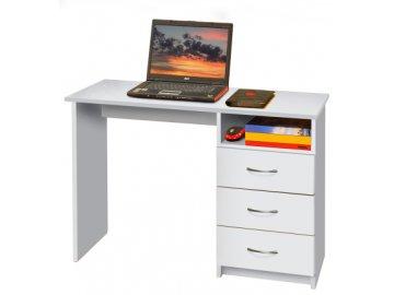 Psací (PC) stůl - bílý