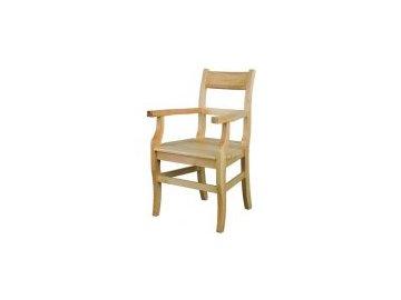Masivní dřevěná jídelní židle KIK 115 borovice masiv