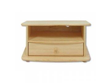 Dřevěný televizní stolek z borovice masiv KIK 109