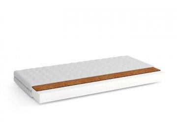 Pěnová matrace V- KOKOS 90x190x11 cm s potahem