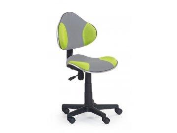 Židle QZY-G2 šedo zelená -SKLADEM