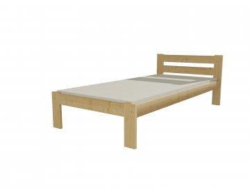 Dřevěná postel VMK 5A 90x200 borovice masiv přírodní