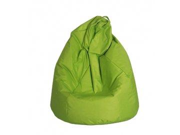 Velký sedací vak Jumbo - zelený  (90 x 90 x 143 cm )