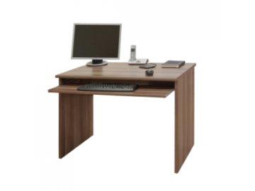 PC stůl s výsuvem na klávesnici Johan 02 -švestka