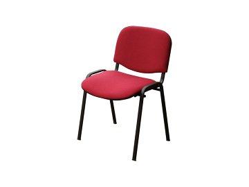 židle VIS vínová