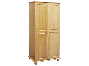 Šatní skříň borovice masiv - Skladem