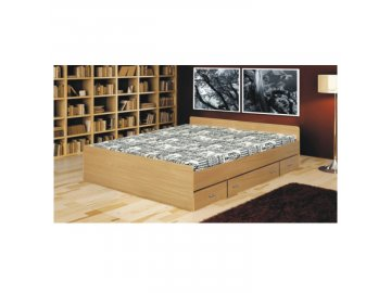 Manželská postel Duet - 160x200 cm
