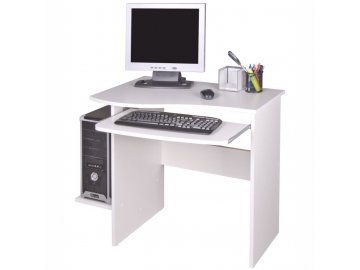 PC stůl Melichar bílý