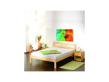 Dřevěná postel Jana 140 x 200 cm borovice masiv