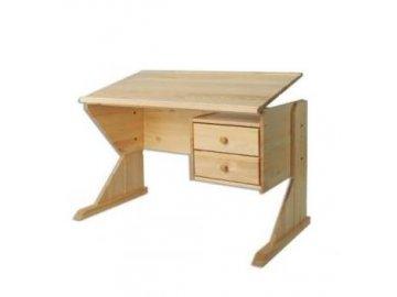 Dětský rostoucí a polohovací psací stůl